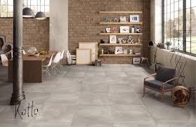 Wohnzimmer Und Schlafzimmer Kombinieren Tolle Farbnuancen Am Boden Kombiniert Mit Naturstein Bricks An Der