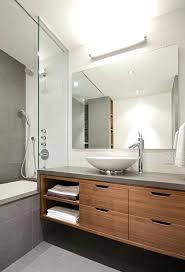 Modern Vanity Lighting Ideas with Bathroom Vanities Modernuniversity Place Modern Bathroom New