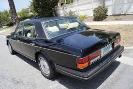 1995 Black Mustang 1995 Rolls Royce Flying Spur Magnolia With Black Piping Stock
