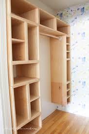 diy custom closet organizer the brilliant box system making it