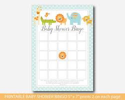 lion baby shower zoo baby shower bingo cards giraffe baby shower bingo cards bs4