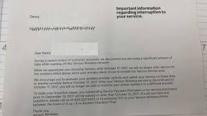 letter of termination of services stop the cap verizon wireless u0027 great rural purge tens of