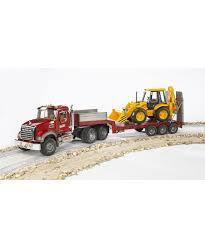 bruder 2813 mack granite low loader a elc indonesia