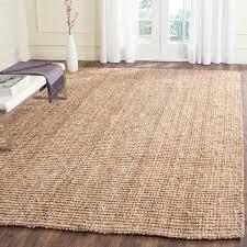 Mini Pebble Wool Jute Rug Safavieh Hand Woven Natural Fiber Natural Accents Thick Jute Rug