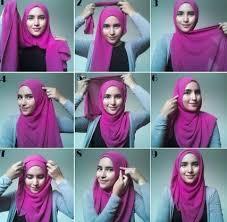 tutorial jilbab ala ivan gunawan tutorial cara memakai hijab modern paris 2015