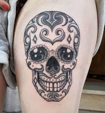 sugar skull tattoo designs candy skull meaning