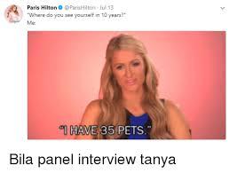 Paris Hilton Meme - paris hilton parishilton jul 13 where do you see yourself in 10