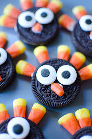 turkey cookies for thanksgiving oreo turkey cookies for thanksgiving