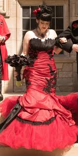 Red And Black Wedding Gothic Wedding Dresses And Gothic Bridal Gowns