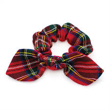 hair scrunchie tartan hair scrunchie polka dot online shop