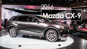 mazda north america 2016 mazda cx 9 2016 naias detroit auto show youtube