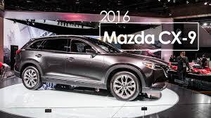 mazda america 2016 mazda cx 9 2016 naias detroit auto show youtube