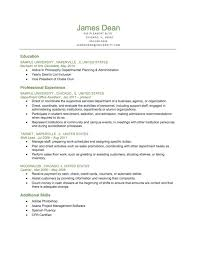Automatic Resume Builder Sample Chronological Resume Sample Chronological Resume Templates