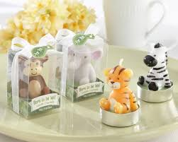 jungle baby shower favors mini jungle themed baby shower candles my wedding favors