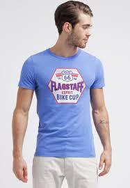 men t shirts esprit print t shirt river blue esprit decor home