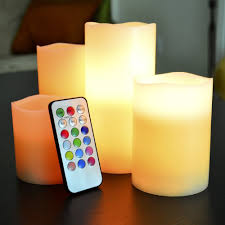 flameless led illumicandle 4 nonflammable wax