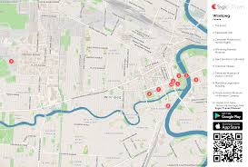 winnipeg printable tourist map sygic travel