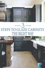 kitchen cabinet colors diy painted furniture ideas 3 steps to glaze cabinets
