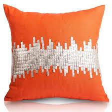 enjoy free shipping on all orange u0026 coral pillows scenario home