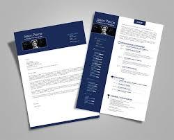 Resume Templates With Cover Letter 10 Fresh Free U0026 Premium Resume Cv Template Design U0026 Cover Letter