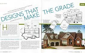 featured in professional builder magazine houseplansblog