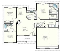 house plans with open floor plan 2 story open floor plans one 1 2 story house plans beautiful e story