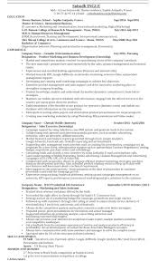Resume Crm Resume Marketing