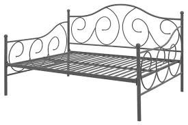 metal daybed frame contemporary design day bed bronze finish