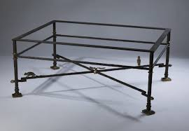 glass wrought iron coffee table home decorating interior design