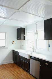 rehab diaries diy beadboard ceilings remodelista tremendeous kitchen 10 ways to improve your beadboard ceiling at