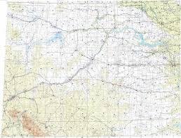 lake sakakawea map topographic map in area of billings minot dickinson