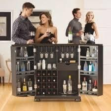 Folding Home Bar Cabinet Fold Out Bar Cabinet Foter