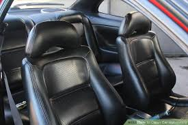 Best Upholstery Cleaner For Car Seats 7 Ways To Clean Car Upholstery Wikihow