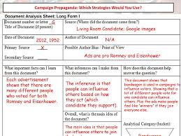 campaign propaganda which strategies would you use ppt video