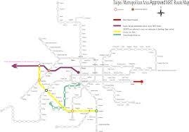 Taipei Mrt Map Construction To Start On Wanda Zhonghe Shulin Line U0027s Taipei Section