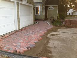 Basket Weave Brick Patio by Basket Weave Driveway And Entryway Design U2014 Mattucci Design