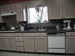 frugal home decorating ideas pressed metal backsplash fake it frugal fake punched tin