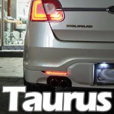 2010 ford taurus aftermarket tail lights exled rear reflector led module for new taurus