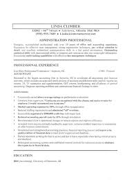 Resume Templates For Administrative Positions Resume Sample For Administrative Position Letter Sample For