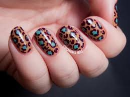 opi nordic collection leopard print nail art chalkboard nails
