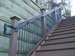 keeping stair railings safe in winter how to choose the right