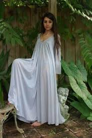 honeymoon nightgowns peasant sleeve nightgown sleeve swing gray