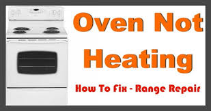 electric oven will not heat removeandreplace com