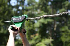 Backyard Zip Line Diy Zip Line Compression Spring Braking System