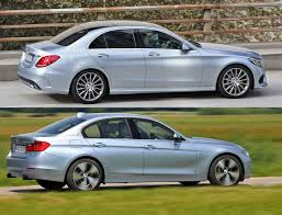 2009 audi a4 vs bmw 3 series 2014 mercedes c class w205 vs 2012 bmw 3 series f30 vs 2013