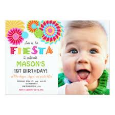 mexican fiesta birthday party invitations u0026 announcements zazzle