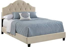 Silver Queen Bed Belfield Silver 3 Pc Queen Bed Upholstered Traditional