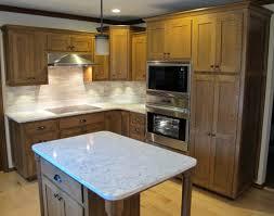 quarter sawn oak kitchen cabinets quartersawn white oak kitchen and bathroom randall