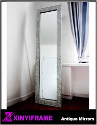 promotion ornate wooden carved mirror frame bathroom mirror stand