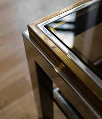 design coffeetable in the manner of willy rizzo